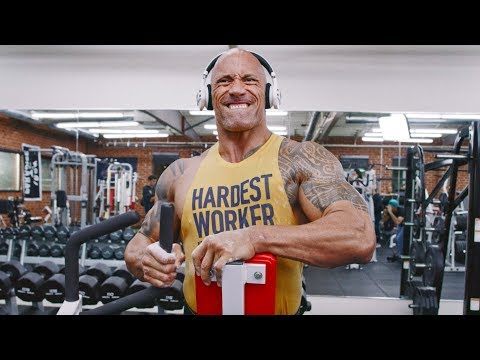 Enter the Iron Paradise. BEND BOUNDARIES. | Dwayne Johnson Under Armour Campaign