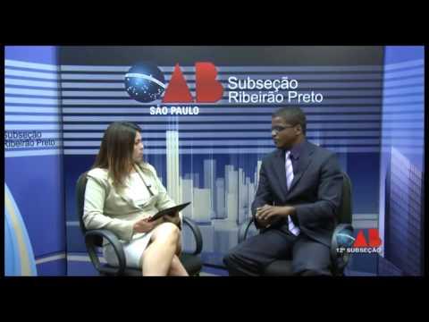 OAB na TV Online – nº 12 – 12ª Subseção OAB/SP – Racismo e Discriminação