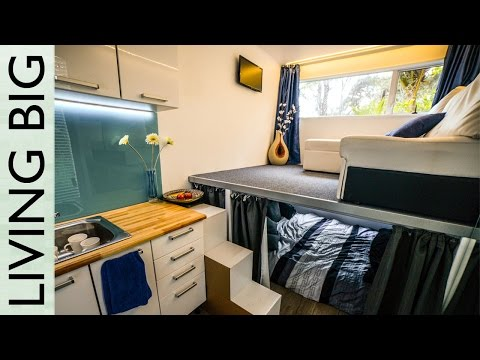 Living in an Off-grid 6m Shipping Container