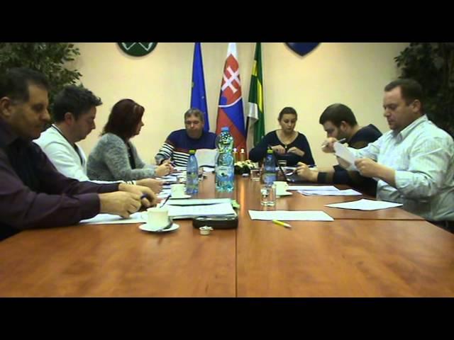 Obecné zastupiteľstvo KP 14.12.2015