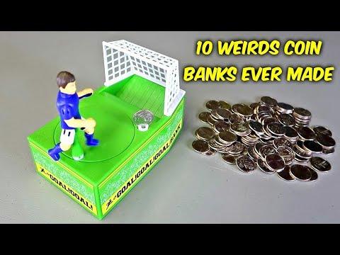 10 Weird Coin Banks Ever Made