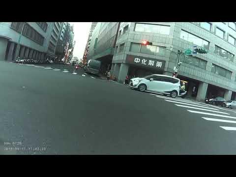 台北市 襄陽路與館前路 機車 車禍
