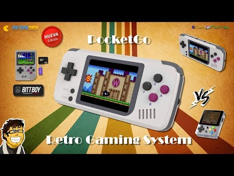 Modelos de uñas - PocketGo Retro Gaming System Vs New BittBoy & LDK Game  Español  CanMurray [HD]