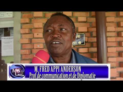 ACTUALITE CANAL MSA-TV JT de 6h COTE D'IVOIRE: SOUTENANCE DE MONSIEUR OLAGBOYE BENJAMIN EN IMAGE