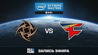 NiP vs FaZe - IEM Oakland 2017 - map3 - de_train [Crystalmay, sleepsomewhile]