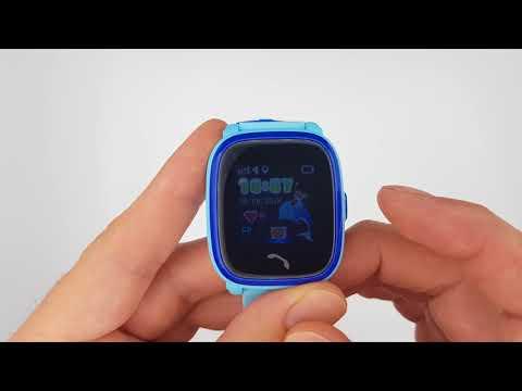 Smart Baby Watch W9 (GW400s) – Детские Умные часы Голубые
