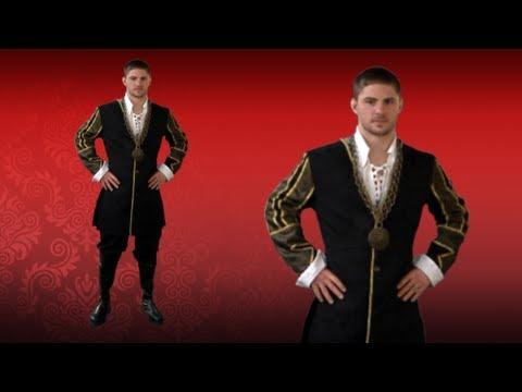 King Henry VIII Tudor Costume