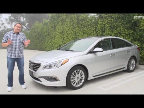 2015 Hyundai Sonata Test Drive Video Review