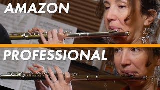 Video Flute Expert tries $70 AMAZON Flute VS Her Flute MP3, 3GP, MP4, WEBM, AVI, FLV Februari 2019