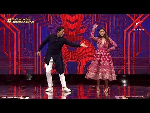 The Great Indian Laughter Challenge | Akshay Kumar and Parineeti Chopra's Dance