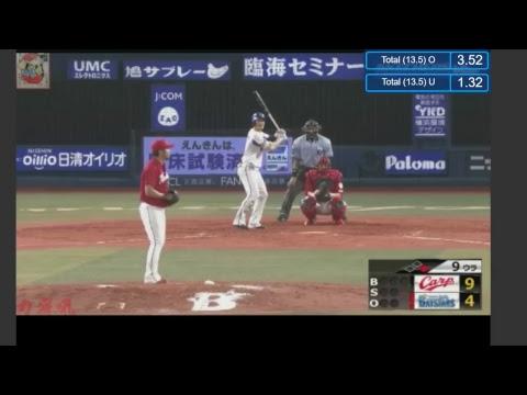 Baseball   Hiroshima Toyo Carp - Yokohama DeNA BayStars 8/6/2017