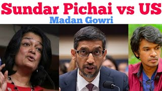 Video Sundar Pichai Vs US | Tamil | Madan Gowri | MG | Speech | Pramila Jayapal | Congress MP3, 3GP, MP4, WEBM, AVI, FLV Desember 2018