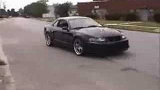 Bad ass Mustang Cobra with Kenne Bell Supercharger