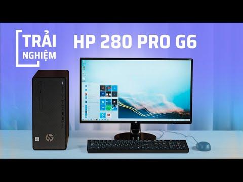 gioi thieu desktop hp 280 pro g6 microtower 3k1z5pa