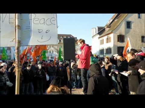 Saarbrücken 2012: Anti- ACTA Demo SAARBRÜCKEN 2012 /  ...