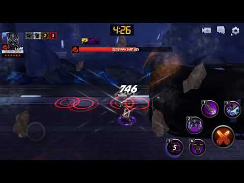 Marvel future fight Black  Parther  extreme(3) with buyer's remorse