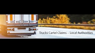 Truck cartel claims - Local authorities