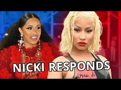 Nicki Minaj RESPONDS To Cardi B Drama!