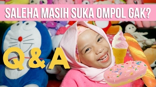 Video Q&A With Anak 5 tahun + Squishy Collection + Hijab Tutorial | Saleha Halilintar MP3, 3GP, MP4, WEBM, AVI, FLV Maret 2018