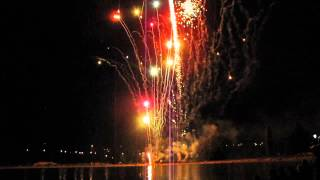 Avon (CO) United States  city photos gallery : Avon, Colorado Salute to the USA, July 3, 2015 complete fireworks show including accident