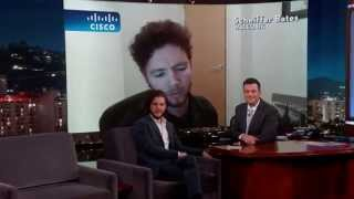 Appearing on the Jimmy Kimmel show last night doing impressions of Jon Snow from HBO's Game of Thrones, alongside Kit Harrington. Original Video: ...