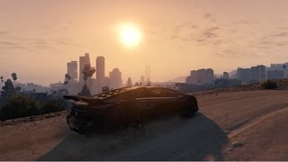 GTA V Next Gen - Driving Time Lapse - World in Motion