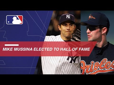 Video: Newly elected Hall of Famer Mike Mussina's career highlights
