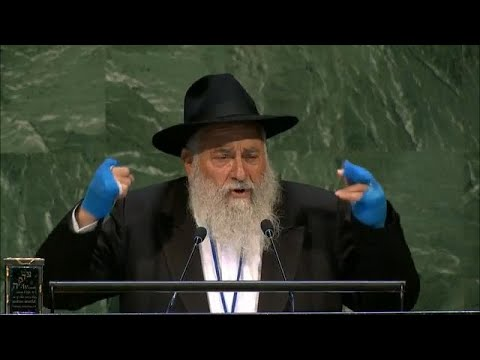 Poway Rabbi Speaks at UN