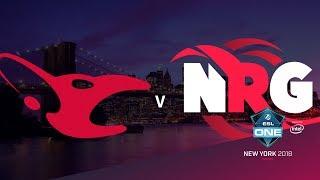 mousesports vs NRG - ESL One NY 2018 Semi-final - map2 - de_nuke [Enkanis, CrystalMay]