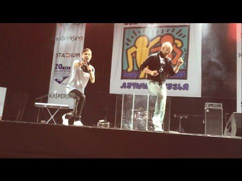 Дмитрий Хрусталев танцует под песню Антона Азарова - Волк (live)