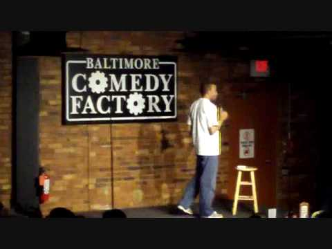 Comedian Jason Weems at the Baltimore Comedy Factory 1 of 3