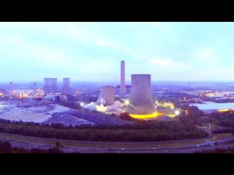 Didcot Drone Video