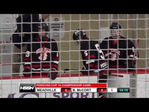 PIHL Penguins Cup Playoffs Class 1A Championship - Meadville vs Bishop McCort