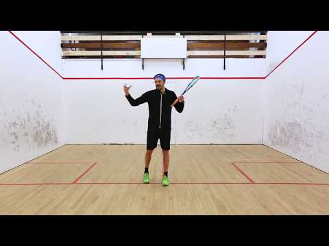 Squash coaching: Hitting cross court