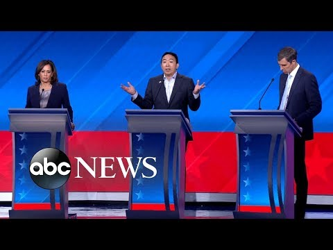 Democratic candidates debate Education  ABC News