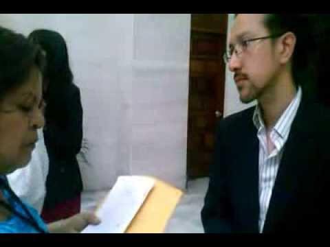 """Video. """"Entrega de tachas de la Liga contra la Dra. Claudia Paz y Paz"""" (28 mar 2014)"""