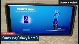 Samsung Galaxy Note9 - Fortnite promotion - Galaxy Skin - 15,000 V-Bucks