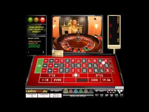 Live Dealer Roulette VIP Video