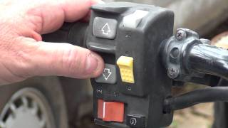 10. HONDAS ELECTRONIC SHIFT PROGRAM ES THUMB SHIFT ON MY HONDA RANCHER ATV