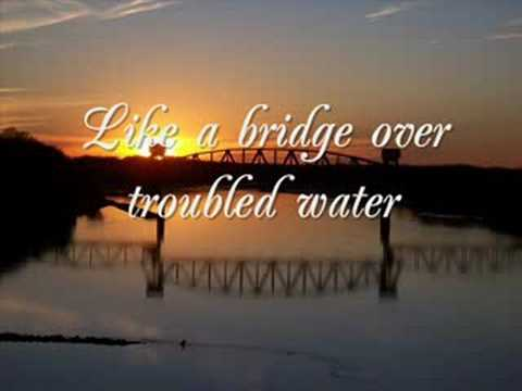 Tekst piosenki Anne Murray - Bridge Over Troubled Water po polsku