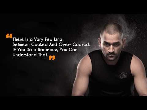 10 Mahendra  Singh Dhoni Quotes on Life
