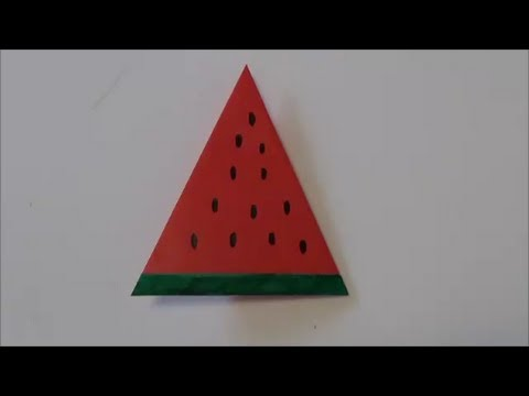 Food Tutorial - 035 -- Watermelon