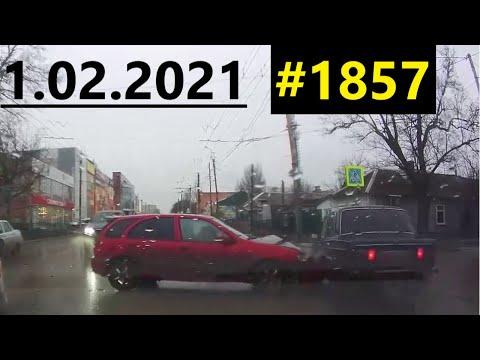 Новая подборка ДТП и аварий от канала Дорожные войны за 01.02.2021