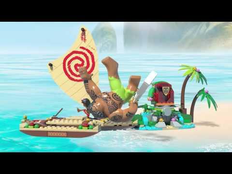 Конструктор Путешествие Моаны через океан - LEGO DISNEY PRINCESS - фото № 14