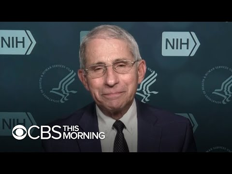 Dr. Fauci on record COVID-19 cases in U.S., holiday safety