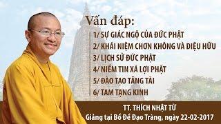 Vấn đáp Phật pháp - TT. Thích Nhật Từ