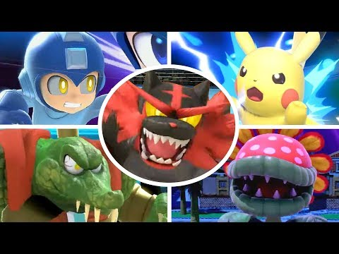 Super Smash Bros Ultimate - All Final Smashes (All Reveals Included)