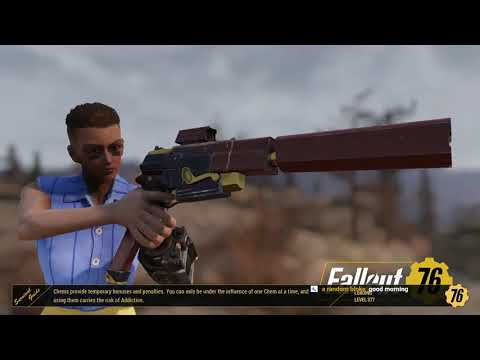 Fallout 76: Double XP Level Grind with lunchboxes
