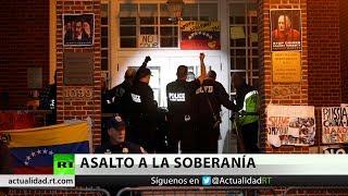 La Policía de EE.UU. irrumpe en la Embajada Venezolana