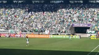 3° Gol do Palmeiras do Jogo Palmeiras 4X2 Vitória - Mayke - 16/07/2017